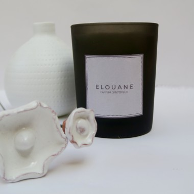 BOUGIE PARFUMEE FLEURS BLANCHES - ELOUANE