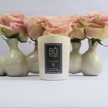 BOUGIE PARFUMÉE LOVELY ROSY BÔRIVAGE Accueil